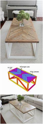 20 DIY Farmhouse Coffee Table Ideas