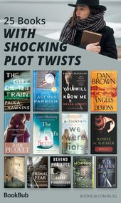25 Books with Plot Twists You Won't See Coming
