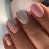 28 Totally Classy Nail Designs to Rock This Winter 1 – #classy #designs #totally…