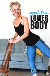 35 Minute SQUAT FREE Lower Body Workout for Women over 50 • Pahla B Fitness