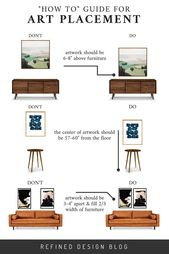 """A """"HOW TO"""" GUIDE FOR ART PLACEMENT 