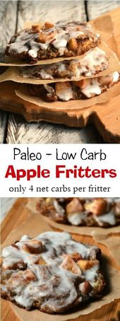 Apple Fritters – Paleo – Low Carb