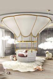 Ballooning Kids Bed for Children Bedroom