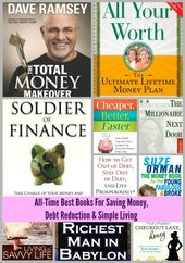 Best Books About Saving Money, Debt Reduction and Simple Living