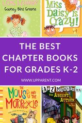 Best Books for Kindergarten, First and Second Grade