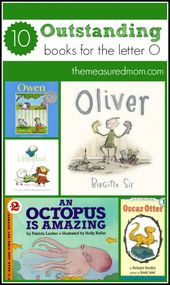 Books to read for letter O – The Measured Mom