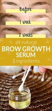 Brow Growth Serum