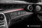 Carlex Design Dresses the Mercedes-AMG C43 in Dark Alcantara for a Supercar-Worthy Look | American Luxury