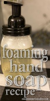 Cheap and better for you hand soap.