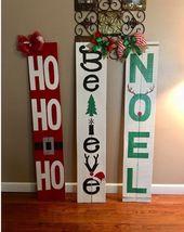 Christmas Porch Decor Sign