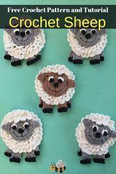 Crochet Sheep Pattern – Crochet Animals