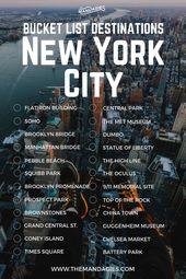Die über 20 besten Instagram-Spots in NYC (Genaue Details für Standorte in NYC!) – The Mandag…
