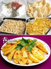 Fırında Yoğurt Soslu Patates Tarifi –