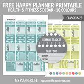 Free Printable – Health & Fitness Sidebar