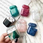 Glossy Marble AirPods Case