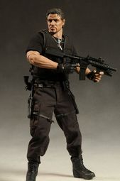 Hot Toys Expendables Barney Ross action figure