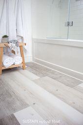 Installating LifeProof Luxury Vinyl Plank Flooring