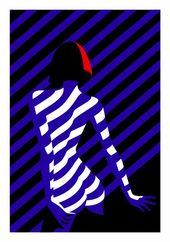 Le Crazy, exposition de 11 sérigraphies de Malika Favre chez Outline Editions – Journal du Design