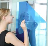 Mirror Wall Sticker Reflective Self-adhesive DIY PET Crystal Mirror Wall Decals