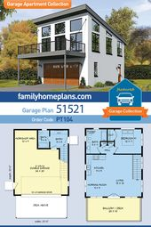 Modern Garage Apartment House Plan at Family Home Plans