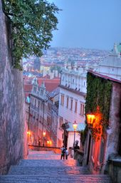 Prague, night walk