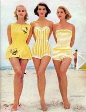 classic day to day: Lovely Females&#39s Swimwear Manner in the 1950&#39s