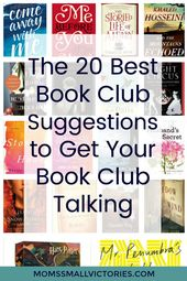 The 20 Best Book Club Suggestions that will Get Your Book Club Talking