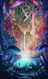 The Cavern (Cover Book Illustration), Christian Benavides