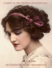 The History of 1900's Makeup – 1900 to 1919   Glamour Daze