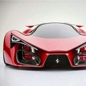 This Futuristic Ferrari F80 Supercar Concept Is Bananas