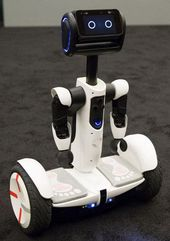 Up close with Segway's new personal robot