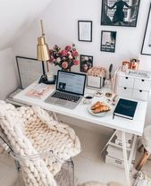 #homeoffice # office # decoration – #décoration #homeoffice #neutral #office