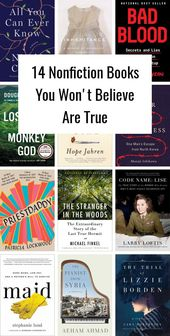 14 Nonfiction Books You Won't Believe Are True