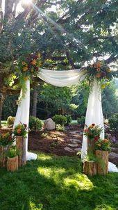33 Ideas For Outdoor Spring Wedding33DECOR