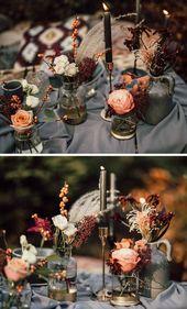 37 Enchanting Boho Wedding Decoration Ideas – Page 2 of 2 – ChicWedd