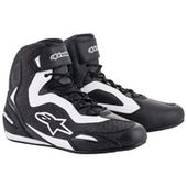 Alpinestars Men's Faster-3 Rideknit Black/White Shoes – 2510319-12-7