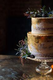Blue & Gold Luxe Victorian Wedding Ideas | Whimsical Wonderland Weddings
