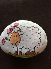 DIY Easy Animal Painted Rocks Ideen, schöne Maler Steinkunst für Anfänger zu …