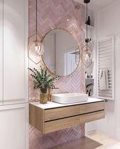 Elegante und luxuriöse Badezimmerdesign-Ideen für eine stilvolle Einrichtung -… – Einrichtungsideen