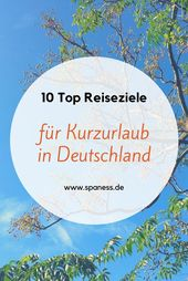 Erholsame Reiseziele Deutschland >>> mit ganz viel Wellnessfaktor