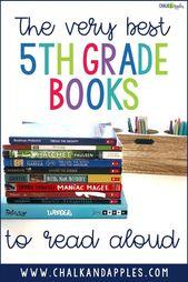 Favorite 5th Grade Books to Read Aloud – Chalk & Apples