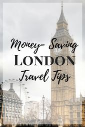 If you are planning a trip to London check out these money-saving London Travel …
