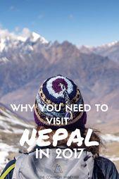 Lonely Planet und The Common Wanderer sagen dir du sollst 2017 Nepal besuchen.