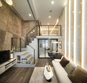 Luxurious Compact Modern Condo Apartment with Double Height Ceiling | iDesignArch | Interior Design, Architecture & Interior Decorating eMagazine