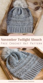 Cost-free Crochet Women's Slouch Hat Totally free Sample