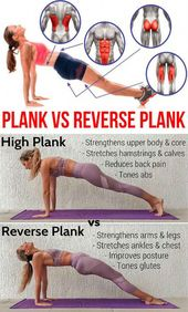 Reverse Planks That Help Strengthen The Core And Lower Body – GymGuider.com