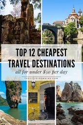 Top 12 Cheapest Travel Destinations — The City Sidewalks