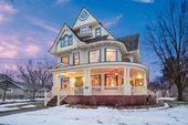 1896 Victorian For Sale In Brodhead Wisconsin — Captivating Houses