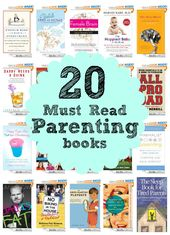 20 Must Read Parenting Books – My Life and Kids