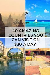 40 Cheapest Countries to Visit (On $30 Per Day Or Less!) – Eternal Arrival